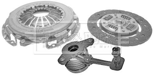 Купете HKT1194 BORG & BECK Комплект съединител HKT1194 евтино