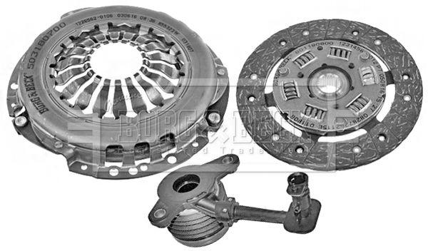 Clutch set HKT1198 BORG & BECK — only new parts