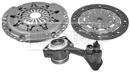 Clutch kit HKT1263 BORG & BECK — only new parts