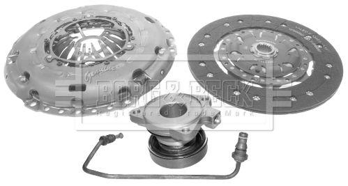 Clutch set HKT1441 BORG & BECK — only new parts