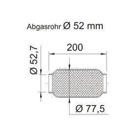 460040 ERNST Flexrohr, Abgasanlage 460040 günstig kaufen
