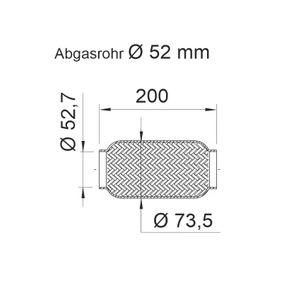 460040 Flexrohr, Abgasanlage ERNST 460040 - Große Auswahl - stark reduziert