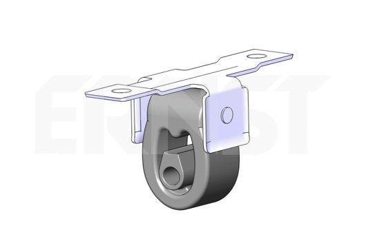 Volkswagen PHAETON ERNST Holding bracket silencer 496308