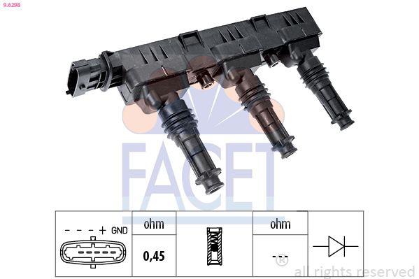 Zündverteiler und Einzelteile FACET HT.0562