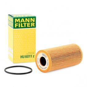Comprare HU 6011 z MANN-FILTER con guarnizioni Diametro interno: 23mm, Ø: 55mm, Alt.: 111mm Filtro olio HU 6011 z poco costoso