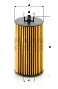 HU6019z Oil Filter MANN-FILTER - Experience and discount prices