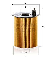 HU7033z Oil Filter MANN-FILTER - Experience and discount prices