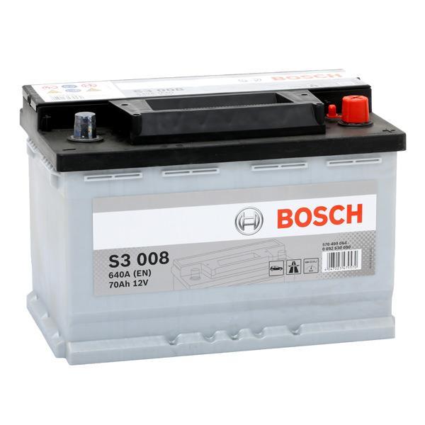0 092 S30 080 Starterbatterie BOSCH Test