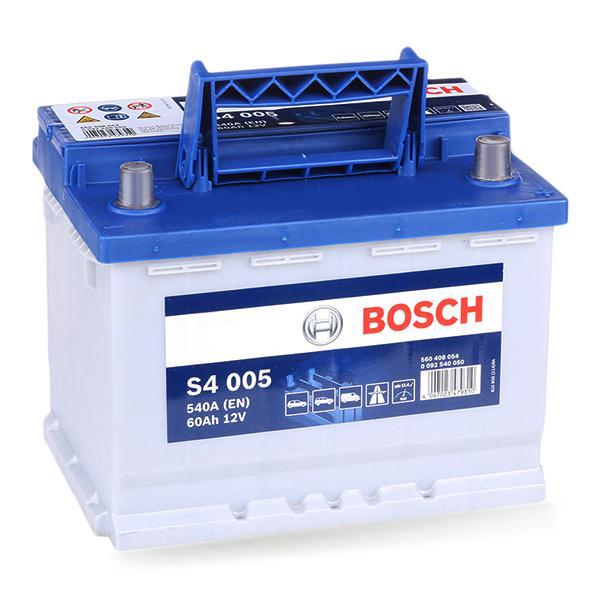 0092S40050 Autobatterie BOSCH 560408054 - Große Auswahl - stark reduziert