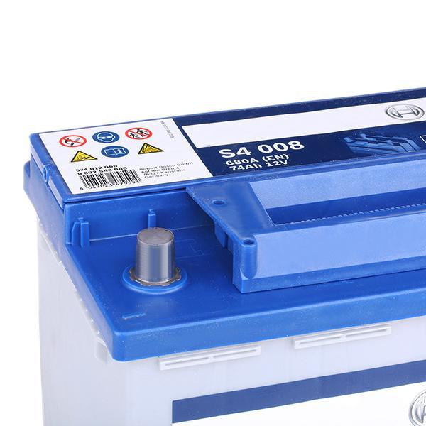 0092S40080 Autobatterie BOSCH 574012068 - Große Auswahl - stark reduziert