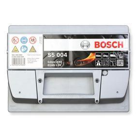 Autobatterie 12V 61Ah Bosch S5004 Starterbatterie PKW KFZ Batterie 0 092 S50 040