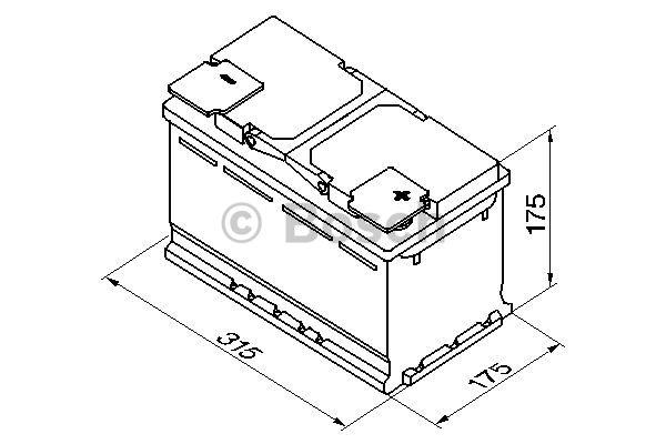 0 092 S50 100 Akkumulator BOSCH in Original Qualität