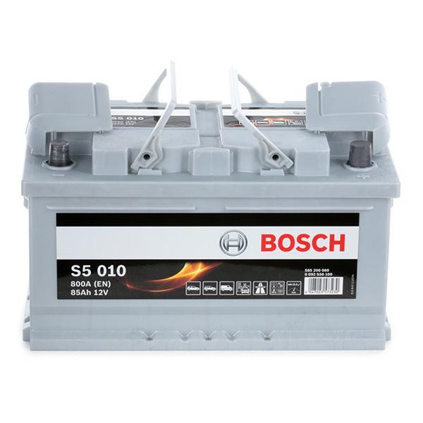 0 092 S50 100 Starterbatterie BOSCH Test