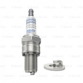 W2CS BOSCH Silver Electrode Gap: 0,6mm Spark Plug 0 241 262 506 cheap