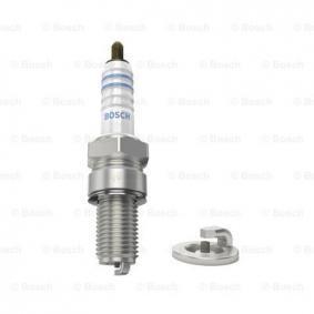 Αγοράστε XR4CS BOSCH Silver Απόσταση ηλεκτροδίου: 0,7mm Μπουζί 0 242 150 501 Σε χαμηλή τιμή