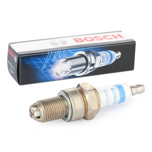 Pieces detachees VW Gol G1 1995 : Bougie d'allumage BOSCH 0 242 232 504 Écart. électr.: 0,9mm — profitez des offres tout de suite!