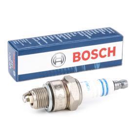 Купете BOSCH Никел разст. м-ду електродите: 0,8мм Запалителна свещ 0 242 235 665 евтино