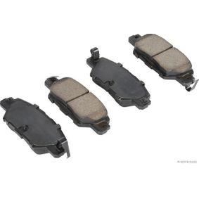 J3613024 HERTH+BUSS JAKOPARTS mit akustischer Verschleißwarnung, mit Anti-Quietsch-Blech Breite: 41,3mm, Dicke/Stärke: 14mm Bremsbelagsatz, Scheibenbremse J3613024 günstig kaufen