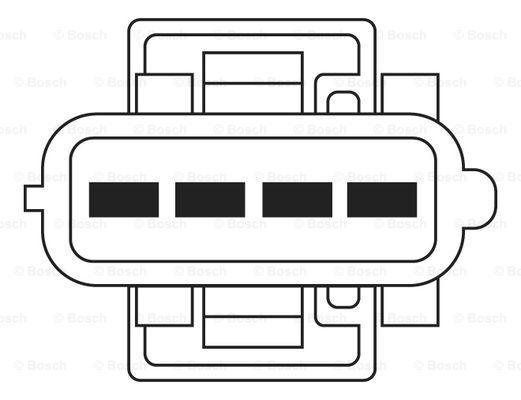 0 258 006 027 O2 Sensor BOSCH - Cheap brand products
