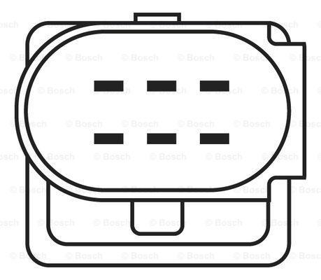 0 258 007 353 O2 Sensor BOSCH - Cheap brand products