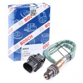 Lambdasonde BOSCH 0 258 017 016 Pkw-ersatzteile für Autoreparatur