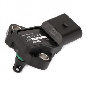 0 281 002 399 Senzor, presiune supraalimentare BOSCH - produse de brand ieftine