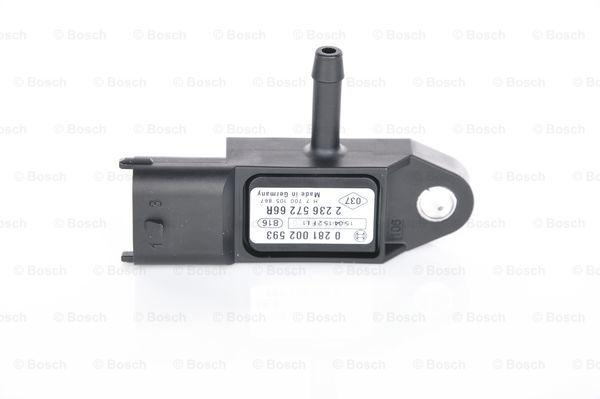 0 281 002 593 Ladedrucksensor BOSCH - Markenprodukte billig