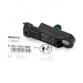 DSS3 BOSCH Sensor, Ladedruck 0 281 002 996 günstig kaufen