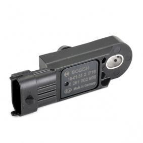 0 281 002 996 Sensor, Ladedruck BOSCH - Markenprodukte billig