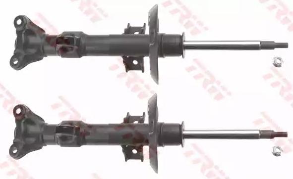 Stoßdämpfer Mercedes S212 vorne und hinten 2014 - TRW JGM1120T (Länge: 595mm, Ø: 54mm, Ø: 54mm)