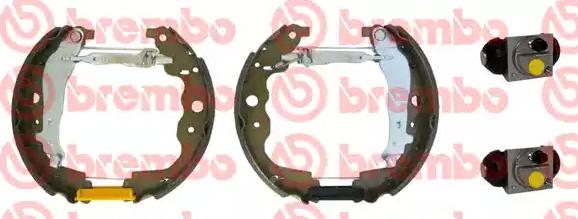 BREMBO: Original Bremsensatz, Trommelbremse K 68 075 ()