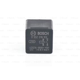 0 332 019 103 Relæ, horn BOSCH - Billige mærke produkter