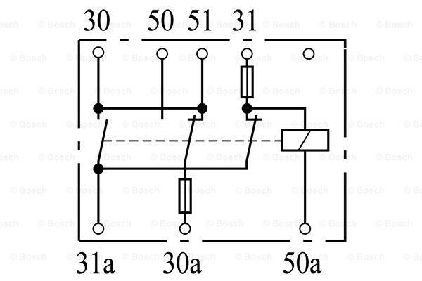 SHSE86 BOSCH Batterierelais 0 333 300 003 günstig kaufen