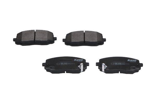 KBP-4006 KAVO PARTS mit akustischer Verschleißwarnung Breite: 45mm, Dicke/Stärke: 16,5mm Bremsbelagsatz, Scheibenbremse KBP-4006 günstig kaufen