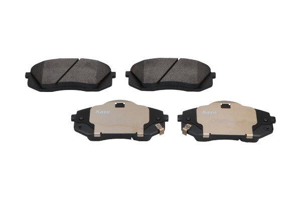 KBP-4018 KAVO PARTS mit akustischer Verschleißwarnung Breite: 56mm, Dicke/Stärke: 16,5mm Bremsbelagsatz, Scheibenbremse KBP-4018 günstig kaufen