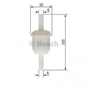 0450904058 Bränslefilter BOSCH - Upplev rabatterade priser