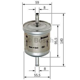 0450905002 Brændstof-filter BOSCH - Køb til discount priser