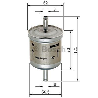 0 450 905 326 Leitungsfilter BOSCH in Original Qualität