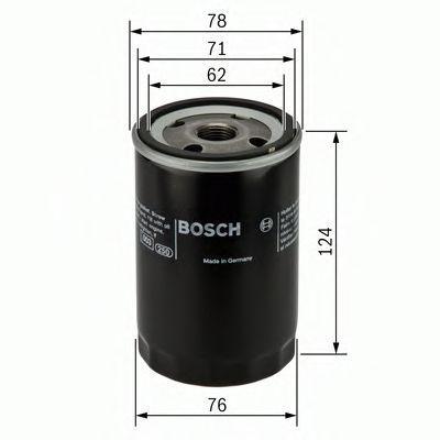 0 451 103 105 Filtro de óleo BOSCH - Produtos de marca baratos