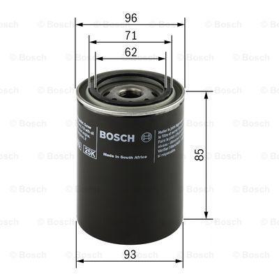 0 451 103 219 Filtre à huile BOSCH - Produits de marque bon marché