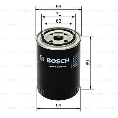 0451103274 Filtre d'huile BOSCH 0 451 103 274 - Enorme sélection — fortement réduit
