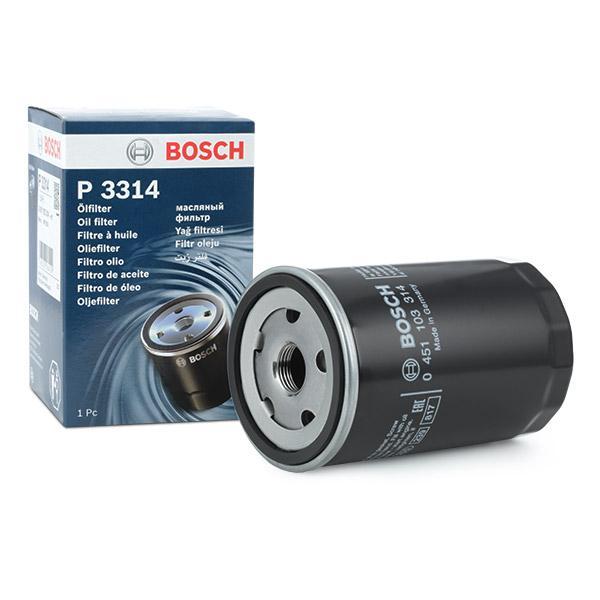 0451103314 Motorölfilter BOSCH OV314 - Große Auswahl - stark reduziert