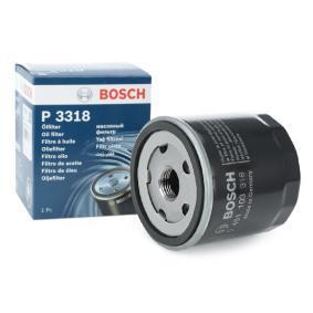 P3318 BOSCH našroubovaný filtr R: 76,2mm, Výška: 74mm Olejový filtr 0 451 103 318 kupte si levně