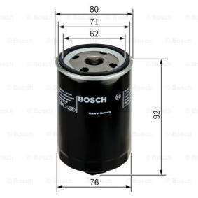 0451103318 Olejový filtr BOSCH OFVW3 - Obrovský výběr — ještě větší slevy