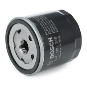 0451103318 Olejový filtr BOSCH - Zažijte ty slevy!