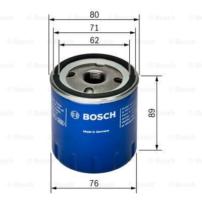 0 451 103 355 Filtre à huile BOSCH - Produits de marque bon marché
