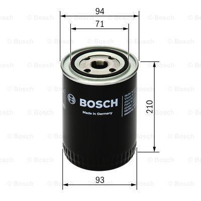 0 451 105 067 BOSCH Filtro olio per DAF N 2800 acquisti adesso