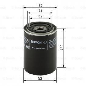 BOSCH Filtro olio 0451203220: compri online