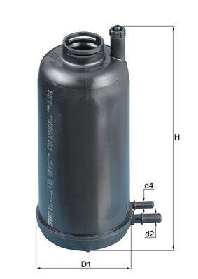 Original IVECO Kraftstofffilter KL 707D
