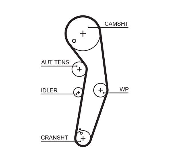 KP25569XS-4 Pompa acqua + Kit cinghie dentate GATES prodotti di marca a buon mercato